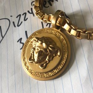 Gold Versace Necklace
